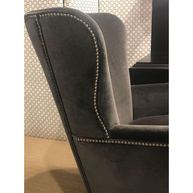 Hickory Chair Samuel Wing Chair - Image 4 of 8