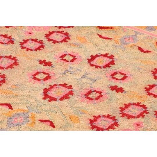 Vintage Peruvian Rug Fernanda Handwoven - 4′11″ × 6′9″ - Image 3 of 6