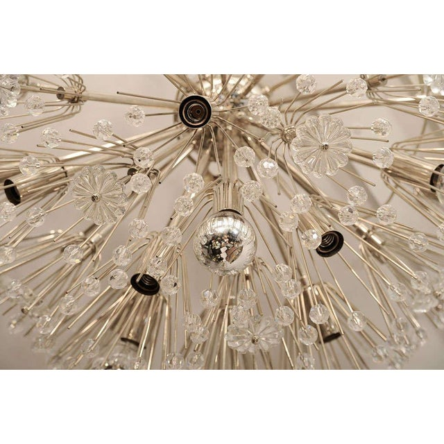 Ceiling Hanging Austrian Chandelier For Sale - Image 4 of 7