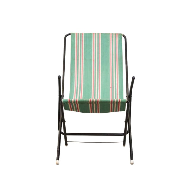 Vintage Pilastro Style Beach Sling Chair - Image 1 of 10