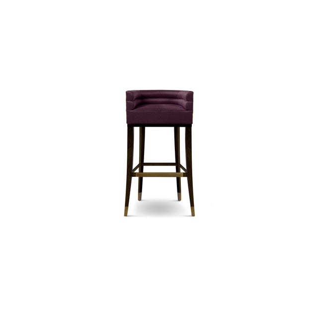 Modern Maa Bar Chair From Covet Paris For Sale - Image 3 of 3