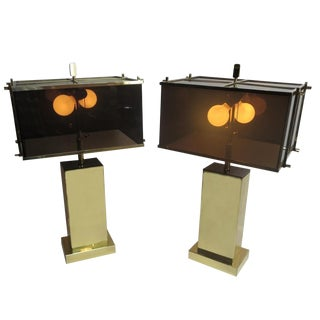 "Charles Hollis Jones ""Edison"" Table Lamps For Sale"