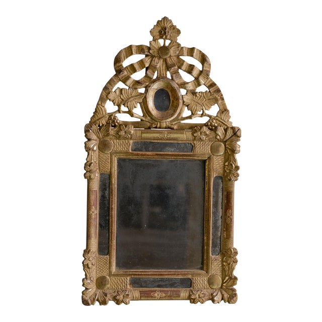 Beautiful Small 18th Century Mirror Louis XVI For Sale - Image 12 of 12