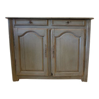 Late 18th Century Vintage Greige Sideboard For Sale