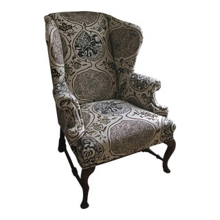 English Wingback Chair