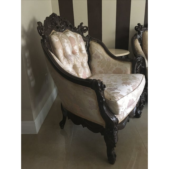 Renaissance Style Accent Chair - Image 3 of 4