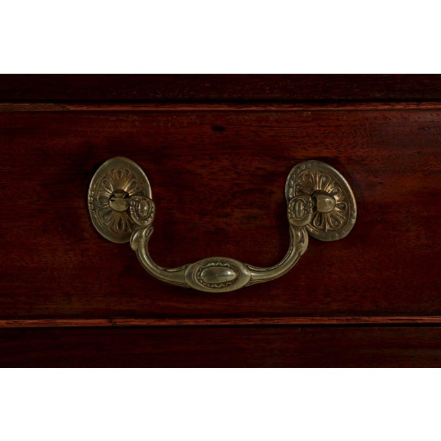 American Chippendale Period Mahogany Antique Card Table, late 18th century For Sale - Image 9 of 11