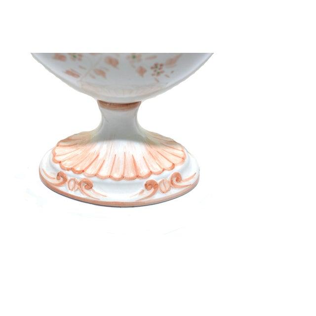 Ceramic Vintage Nora Fenton Italian Compote Dish For Sale - Image 7 of 8