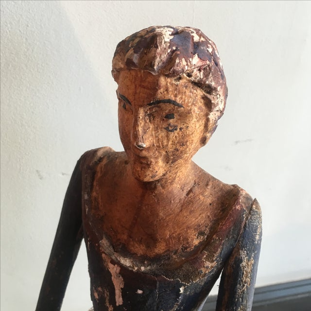 Santos Southwest Folk Art Figure - Image 5 of 5