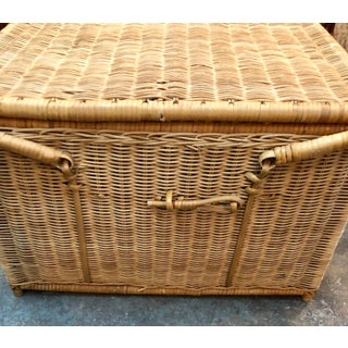 French Rattan Picnic /Trunk Basket Preview