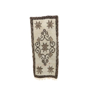 1980s Moroccan Azilal Rug - 2′9″ × 6′2″ For Sale