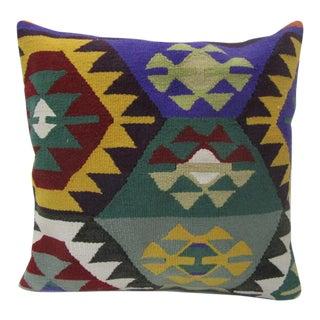 Handmade Decorative Kilim Pillow For Sale