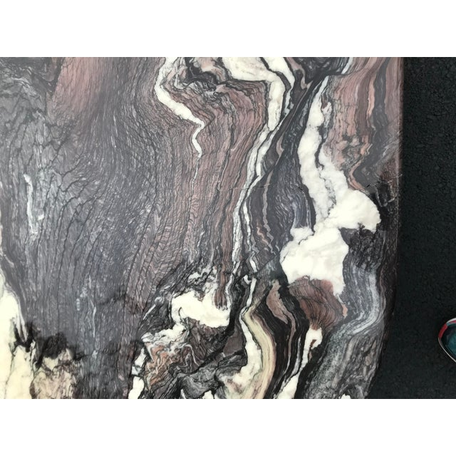 Italian Sculptural Marble Coffee Table For Sale - Image 9 of 13