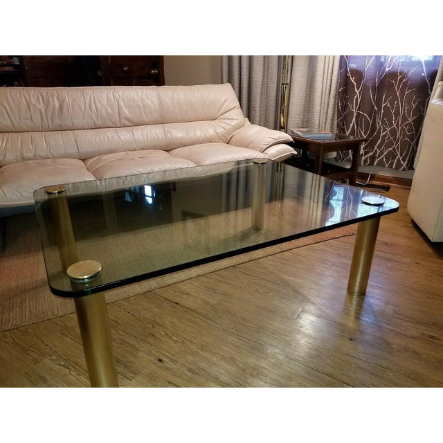 """Mid Century Custom Coffee table by Leon Rosen's Pace Collection in excellent condition. This amazing table measures 48"""" W..."""
