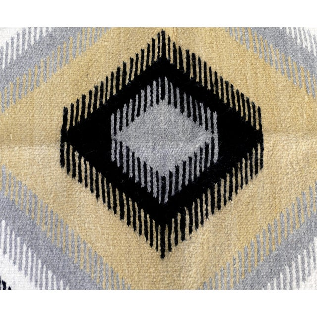 Offered for sale is a wonderful 1940's Navajo Rug from the George Sheyrman Collection. This hand woven Navajo rug is...