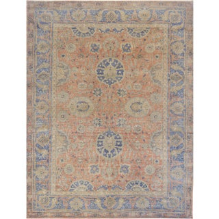 Mansour Fine Handwoven Sultanabad Rug For Sale