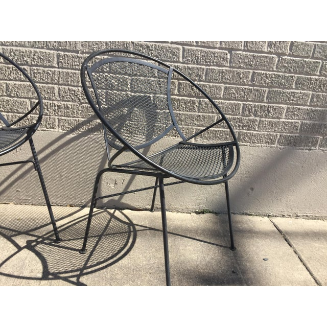 Salterini Outdoor Patio Dining Table & Chairs- Set of 5 - Image 3 of 6