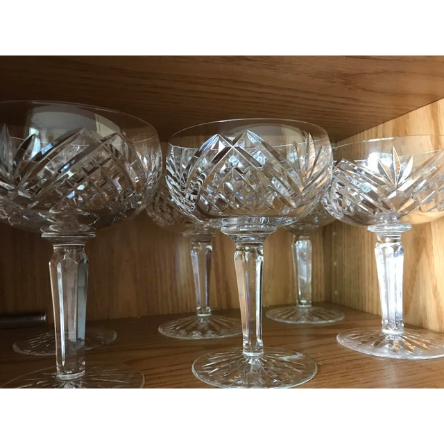Waterford Lismore Essence Champagne Saucers - a Pair For Sale In Chicago - Image 6 of 7