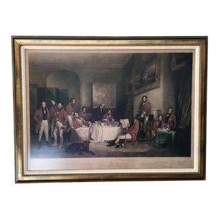 "Early 19th Century Antique ""Melton Breakfast"" Engraving Print For Sale"
