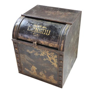 Antique Tea Bin For Sale