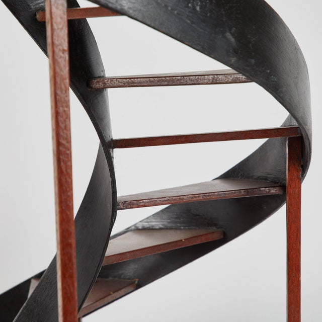 Late 19th Century Model of Circular Staircase From France For Sale - Image 4 of 9
