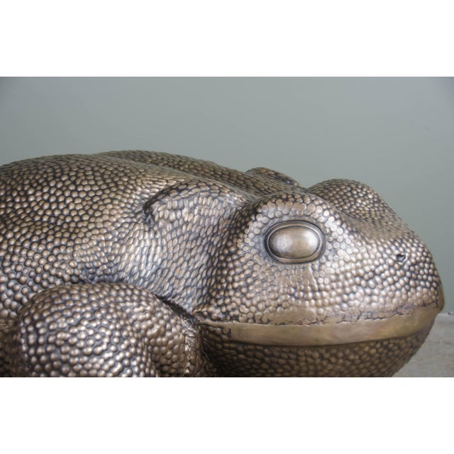 Robert Kuo Toad Sculpture For Sale - Image 4 of 6