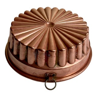 Christian Wagner Hanging Copper & Tin Cake Mould For Sale