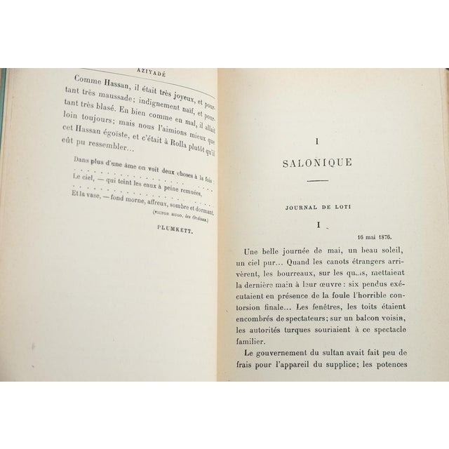 """1920s """"Aziyade"""" Book by Pierre Loti, 1925 For Sale - Image 5 of 7"""