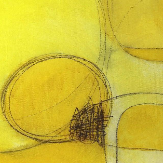 """Abstract """"Espacio De Sol"""" Original Abstract Artwork by Sergio Valenzuela For Sale - Image 3 of 9"""