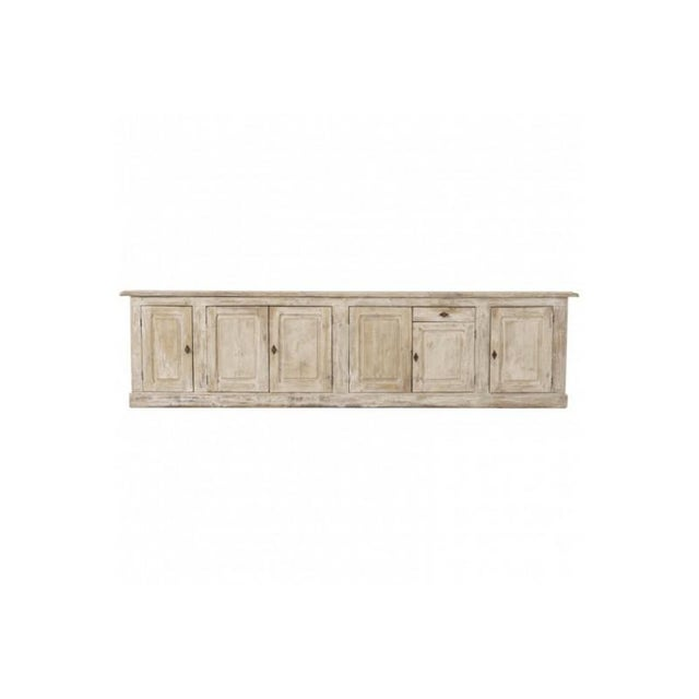 19th Century French Provençal Louis Philippe Style Enfilade in Original Patina For Sale - Image 10 of 10