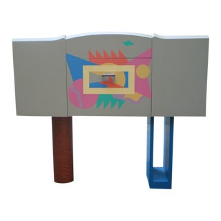 Alessandro Mendini Cocktail Cabinet For Sale