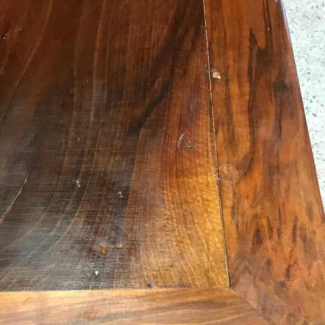 Brown Antique French 19th Century Walnut Dining Table For Sale - Image 8 of 13