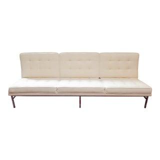 Florence Knoll Parallel Bar Armless Sofa For Sale