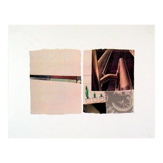 Robert Rauschenberg_Untitled_1971_Offset Lithograph For Sale