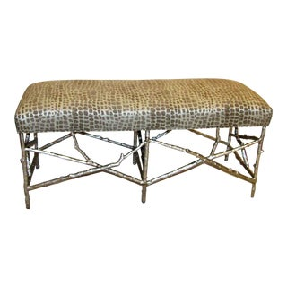 John Richards Silver Branch Bench For Sale