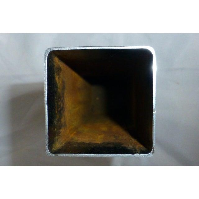 Mid-Century Chrome Bud Vase - Image 5 of 6