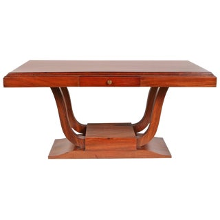 Art Deco French Colonial Rosewood Desk For Sale