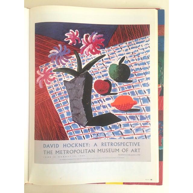 """David Hockney Poster Art"" 1st Edition Vintage 1995 Collector's Art Book - Image 4 of 11"