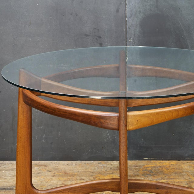 Danish Modern Early 1960s Pearsall Craft Assoc. Black & Walnut Dinette Set For Sale - Image 3 of 9