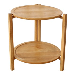 1960s Dansk Designs Side Table With Removable Trays For Sale