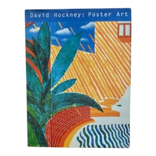 David Hockney: Poster Art Book by Brian Baggot For Sale