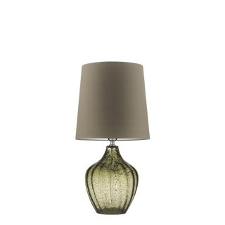 Vivienne Medium Natural Green Table Lamp For Sale