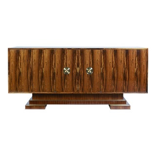 Old Growth Brazilian Rosewood Sideboard- 2nd of Only Two Available in This Rare Material