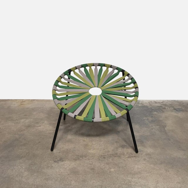 Retail Value: $875 Lago 'Lastika' Chair by Velichko Velikov The seat of the Lastika chair is made up of forty elastic...