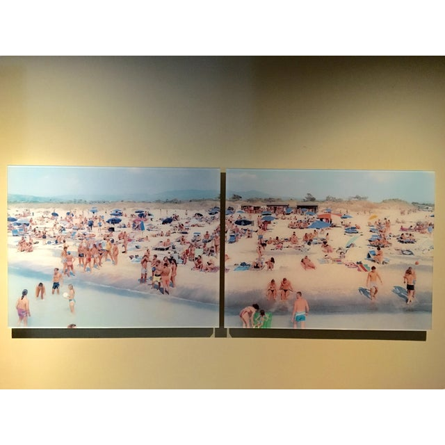 Massimo Vitali Diptych Limited Edition - Image 2 of 5