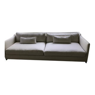 Cisco Brothers Off White Linen Couch For Sale