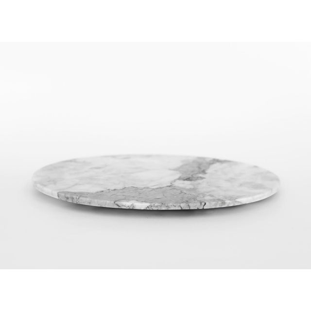 Modern Veneciano Marble Serving Platter, Mexico City 2018 For Sale - Image 3 of 3