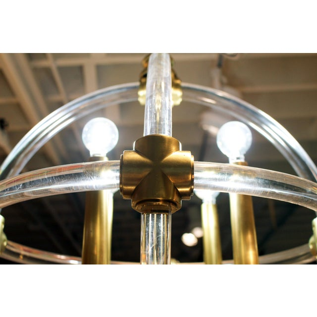 Globe Pedant Light Fixture For Sale In New York - Image 6 of 8