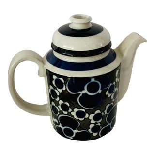 Vintage Arabia Finland Coffee Tea Pot For Sale