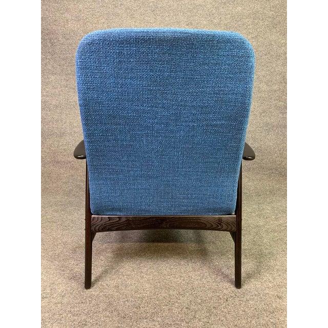 1960s Mid Century Vintage Alf Svensson for Dux Scandinavian Lounge Chair For Sale - Image 5 of 11
